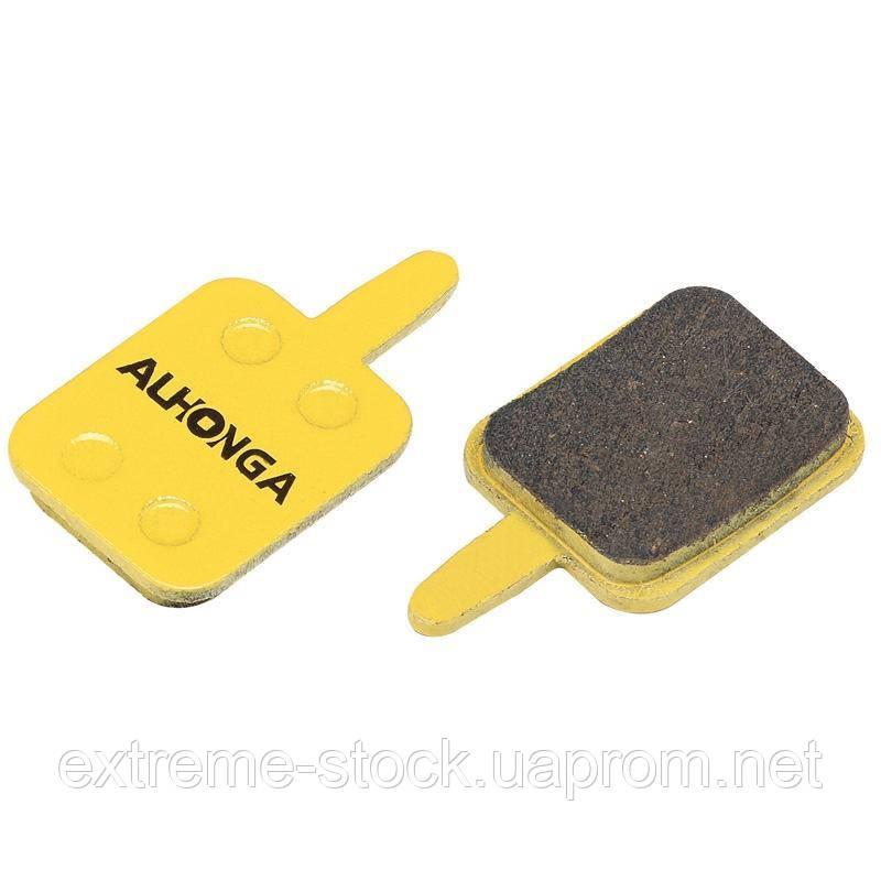 Колодки дисковые ALHONGA HJ-DS33 Assess Mechanical disc brake organic black