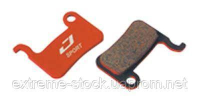 Колодки тормозные диск JAGWIRE Mountain Extreme (Red Zone Extreme) DCA527 (2 шт) - Shimano XTR