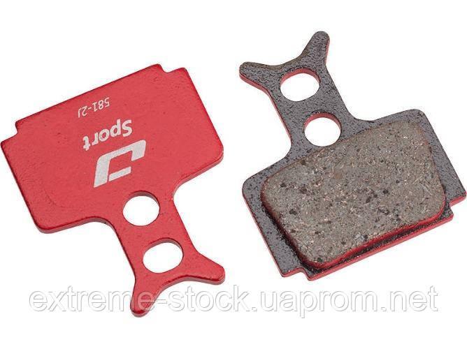 Колодки тормозные диск JAGWIRE Red Mountain Sport DCA080 (2 шт) - Formula R1