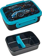 Набор Hot Wheels (Хот вилс). Ланч бокс (контейнер) + бутылка, ТМ Kite (Кайт), фото 2