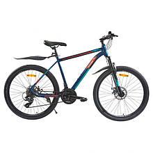 Велосипед SPARK JACK 26-Al-19-AML-D Shimano (Синий с голубым)