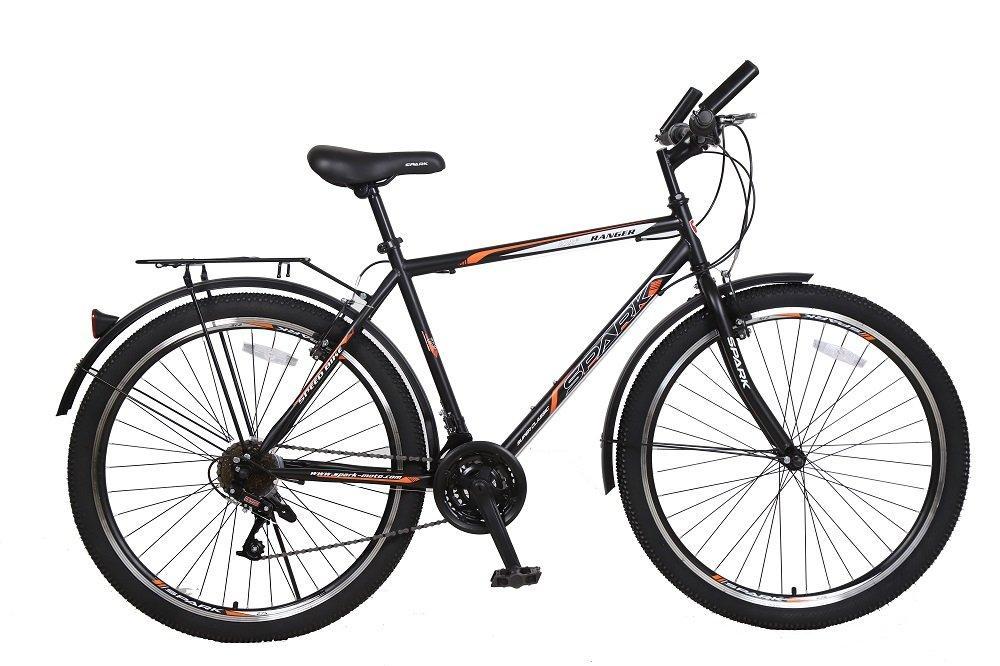 Велосипед SPARK RANGER 27,5-ST-20-ZV-V (Чорний з оранжевим)