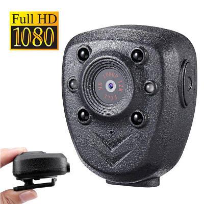 Боди камера - нагрудный видеорегистратор для полиции Boblov PC-40, FullHD 1080P, 4 часа автономной съёмки