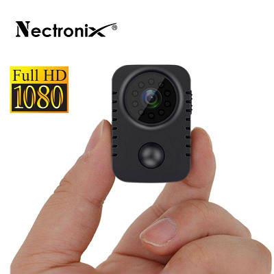 Мини камера с датчиком движения, ночным виденьем и записью на карту памяти Nectronix MD29, FullHD 1080P, до 90