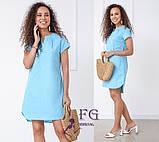 """Вільний жіноча літнє плаття з льону """"Penny"""", фото 8"""