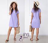 """Вільний жіноча літнє плаття з льону """"Penny"""", фото 3"""