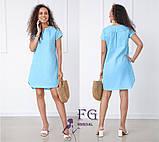 """Вільний жіноча літнє плаття з льону """"Penny"""", фото 4"""