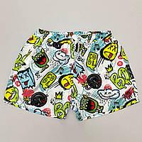 Мужские плавательные шорты с крутым принтом. Стильные плавки мужские пляжные с модным принтом., фото 1