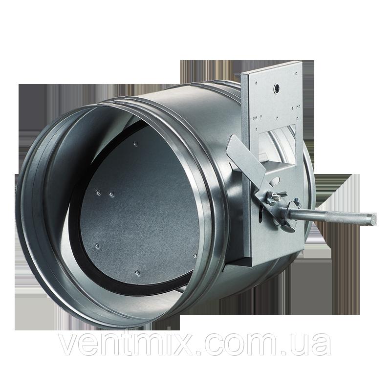Дроссель-клапан из оцинкованной стали d 315 мм