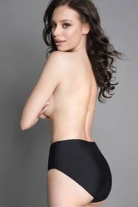 Утягивающие женские трусики Julimex 571 Slim all Day с обычной талией Черный