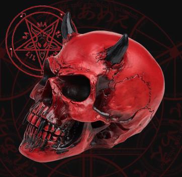 Череп Червоного Демона (Nemesis Now) Раритет