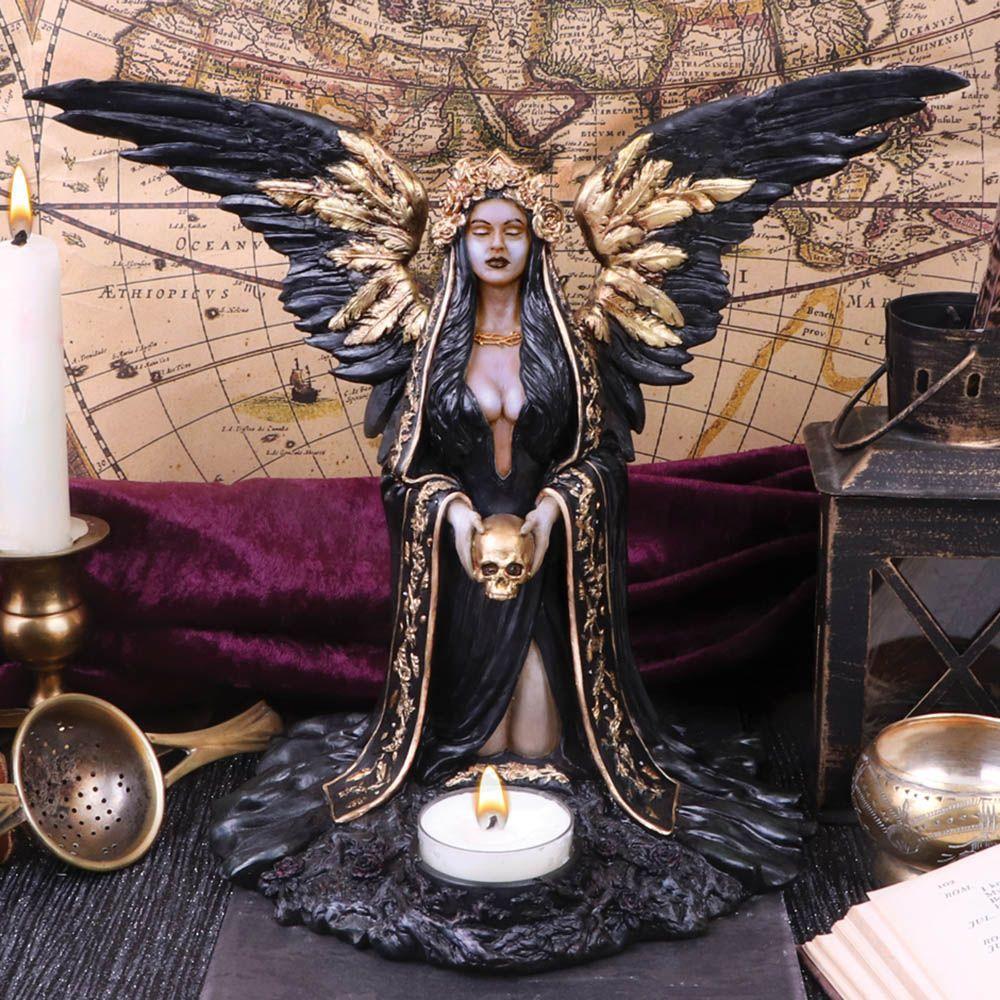 Підсвічник-Статуетка-кадильниця Блага Смерть-Teresina 28 см (Nemesis Now)