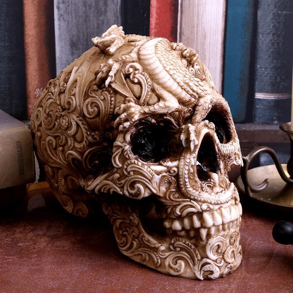 Череп з Драконом-Cranial Drakos (Nemesis Now)