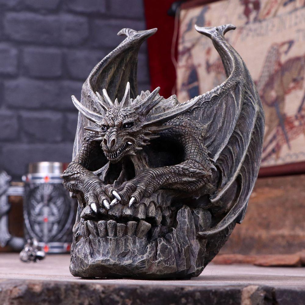 Череп-Дракон-Draco Skull (Nemesis Now)