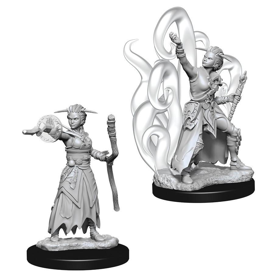 Мініатюра Nolzur's Marvelous Miniatures Human Warlock female
