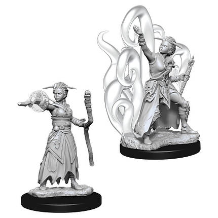 Мініатюра Nolzur's Marvelous Miniatures Human Warlock female, фото 2