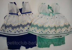 Комплект для девочки Papatya: туника + шорты