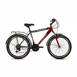 """Велосипед ARDIS CTB 24"""" ST """"SANTANA"""" Сіро-червоний"""