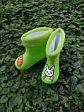 Резиновые сапоги,детские,зайцы размеры: 15,16,17,18,19, фото 2
