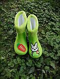 Резиновые сапоги,детские,зайцы размеры: 15,16,17,18,19, фото 4