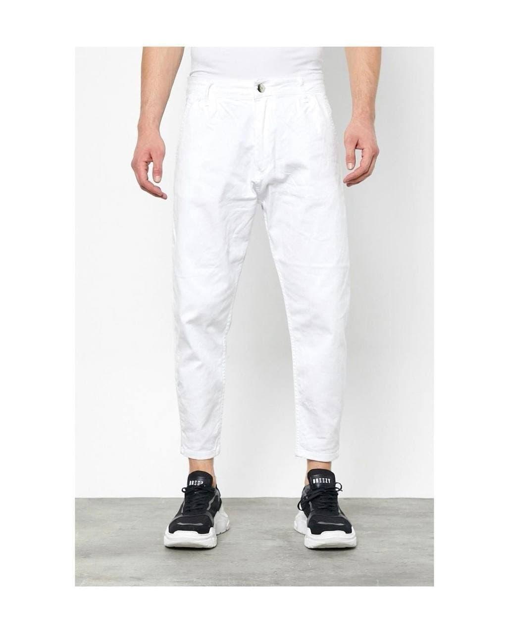 Джинсы - Мужские белые джинсы / чоловічі джинси білі МОМ