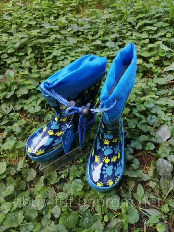 Гумові чоботи, розміри: 36-41