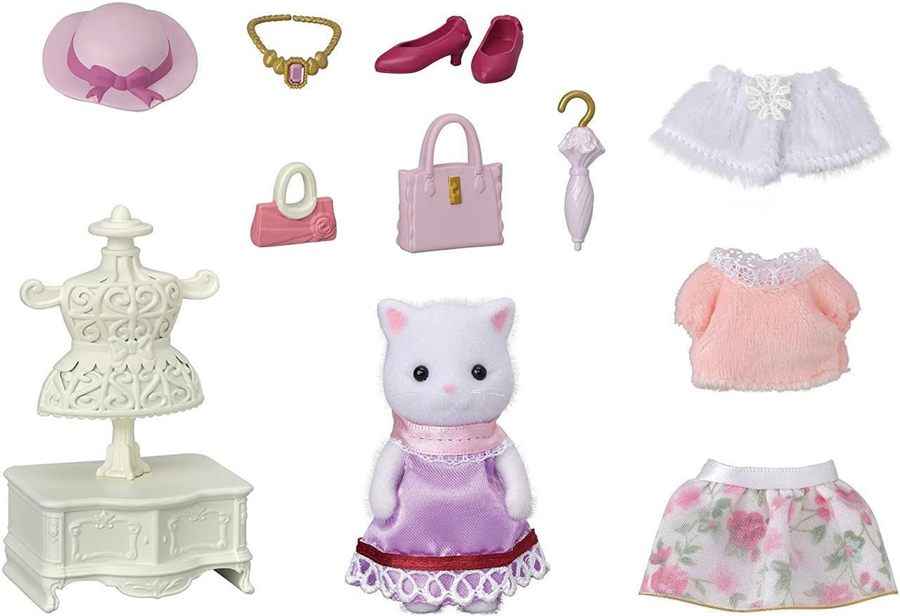 Sylvanian Families Персидская Кошка модница и ее гардероб 5461
