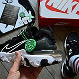 Nike React Element 87 X Off-White 'Black White', фото 2