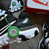 Nike React Element 87 X Off-White 'Black White', фото 4