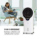 Воздухоохладитель, охладитель, увлажнитель воздуха Klarstein без пульта управления, фото 4