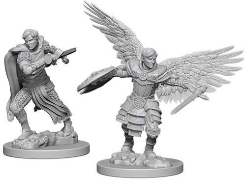 Миниатюра Nolzur's Marvelous Miniatures Aasimar Fighter