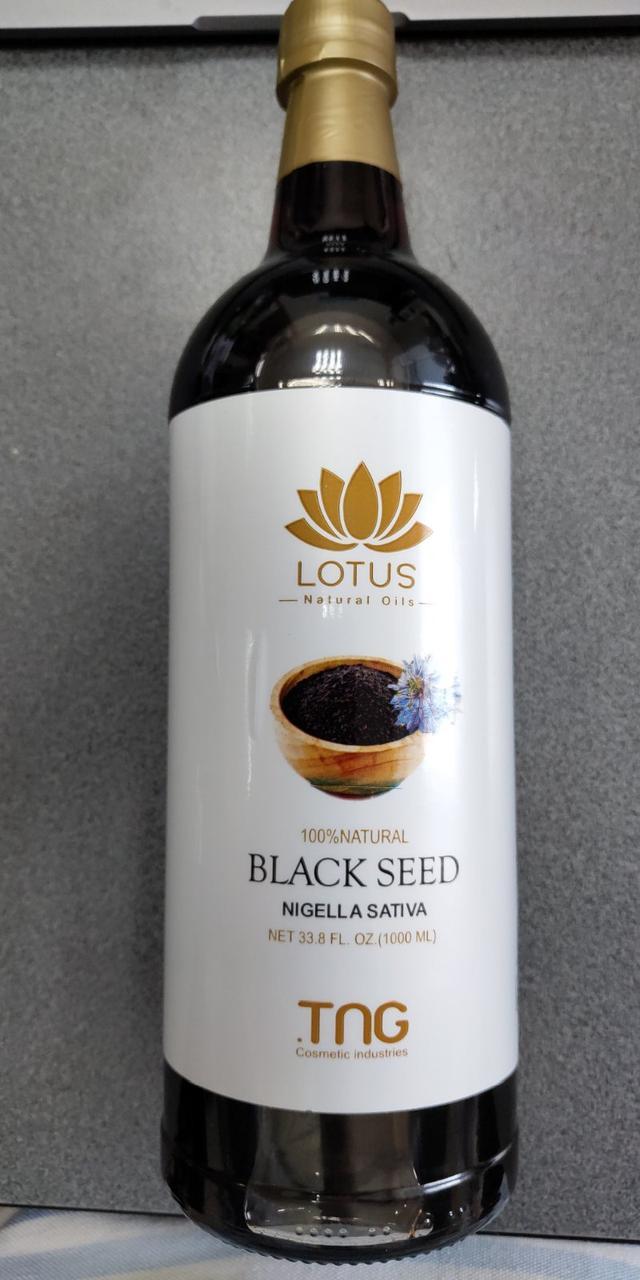 Лотус Lotus Black Seed масло чорного кмину Лотус 1 літр Єгипет Оригінал СКЛО 1000 мл
