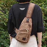 Рюкзак через плечо тканевый (СР-1029-20)