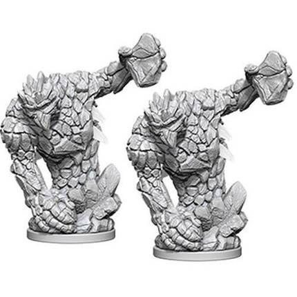 Мініатюра Pathfinder Battles Miniatures Medium Earth Elemental, фото 2