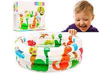 Детский надувной бассейн интекс! Детские надувные бассейны!    61*22 см.   INTEX