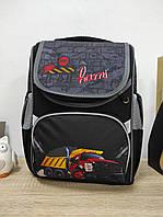 Школьный рюкзак для мальчика с грузовиком STOP  38*30*17 см