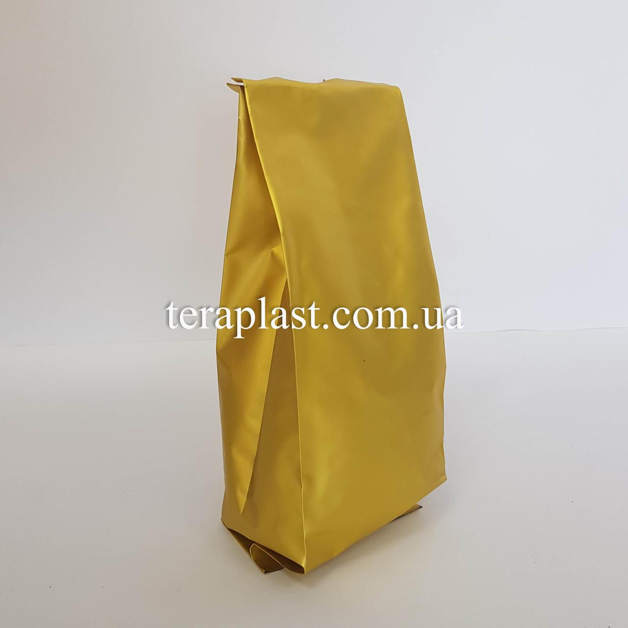 Гассет-пакет с центральным швом золото 250г 80х250х32