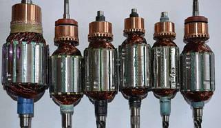 Якоря (роторы) и статоры для электроинструмента
