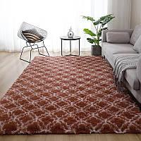 Коврик длинный ворс Травка | пушистый коврик длинный ворс 150*200см