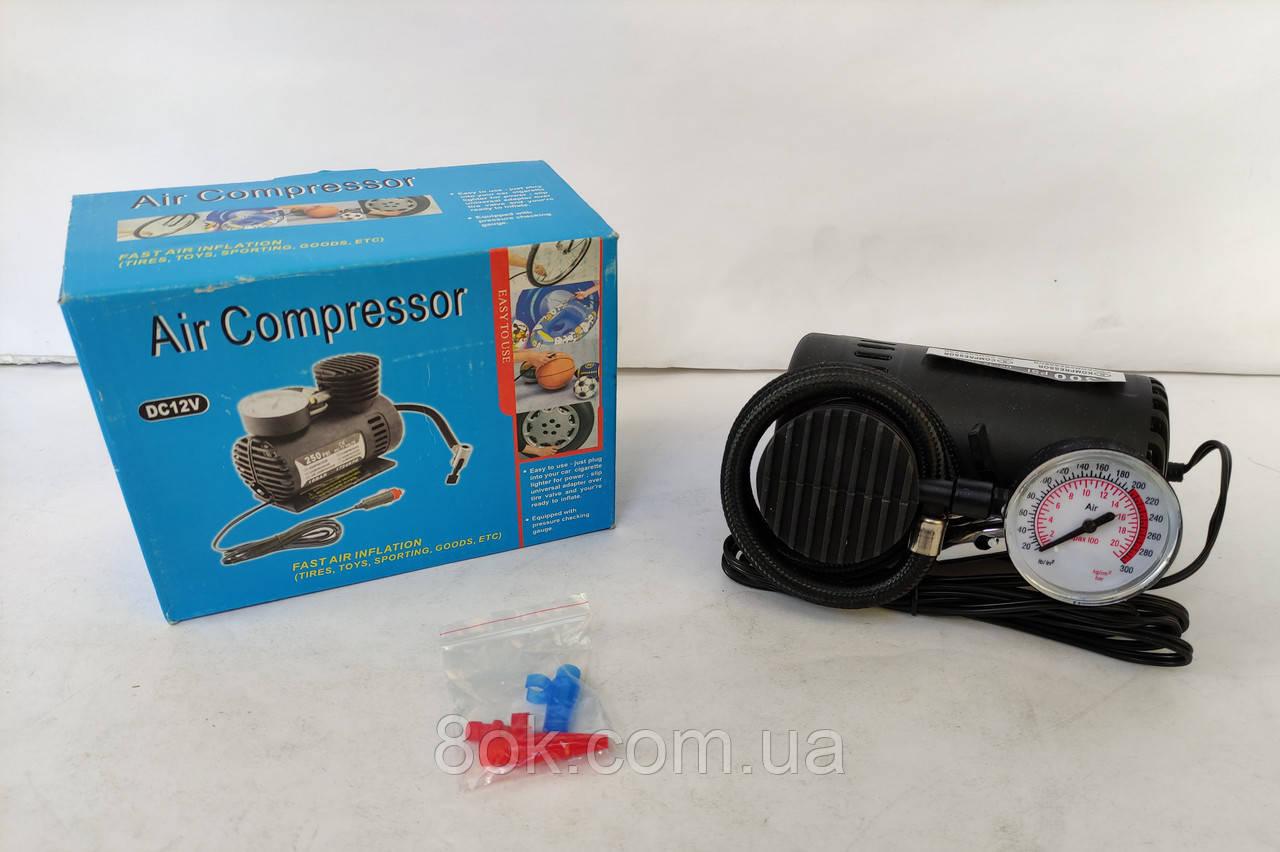Автомобильный компрессор DC-12V 300 PSI