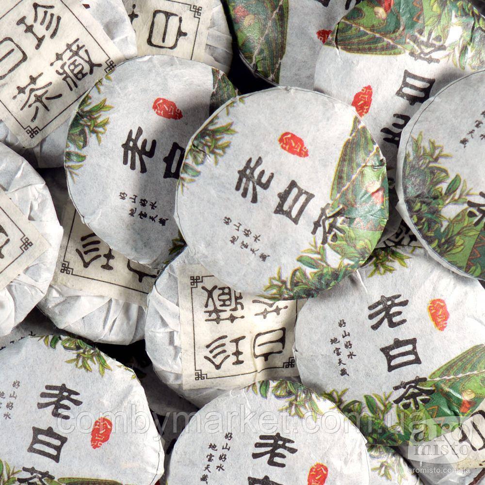 Білий пресований чай Міні-бінг 50g