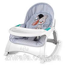 Крісло-гойдалка 3в1 Lorelli Alex Світло-сірий