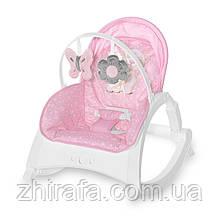 Крісло-гойдалка Lorelli Enjoy Світло рожевий