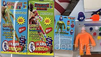 Игрушка-тянучка AN1482 (120шт)DIY стрейчевые монстры, 2 вида,  в коробке 20*13,5*4,5 см