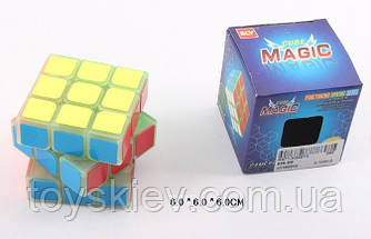 Кубик логіка 858-B8 (144шт)світиться в темряві,3*3,в коробці 6*6*6см