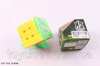 Кубик логіка 379006-A (240шт 2) 3*3 з підставкою, в коробці 6*6*6 см