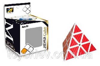 Кубик логіка 351 (144шт 2)трикутний, в коробці 7*7*10см
