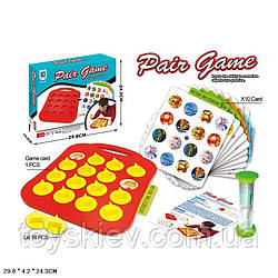 Гра-головоломка ST1969 (72шт 2) розвиток логіки, 10 карток, 16 фішок,в коробці 30*24*4см