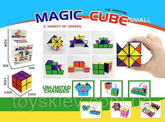 Магічний Кубик SH0517A (96шт)кольоровий, 2 в 1, в коробці 9,5*6*6 см