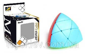 Кубик логіка 497 (144шт 2)трикутний, в коробці 7*7*10см